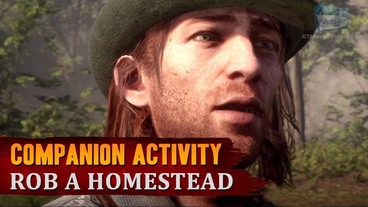 Red Dead Redemption 2 - Companion Activity #6 - Home Robbery (Sean)