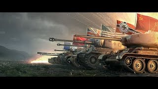World of Tanks Blitz WOT gameplay playing with Dynamic Leopard EP161(05/19/2018)