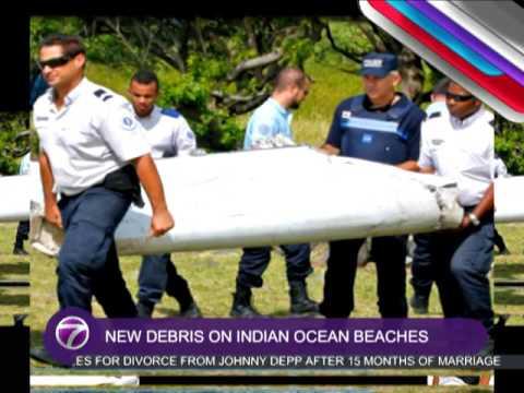 New Debris On Indian Ocean Beaches