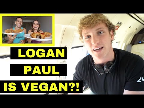 LOGAN PAUL GOES VEGAN | Cow Swims to Island + more | Mukbang