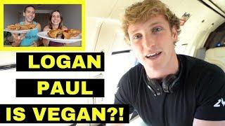 LOGAN PAUL GOES VEGAN | Cow Swims to Island + more | Mukbang