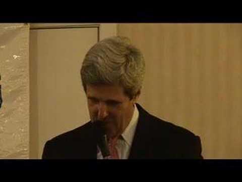 Senator John Kerry Address Cape Cod Democrats
