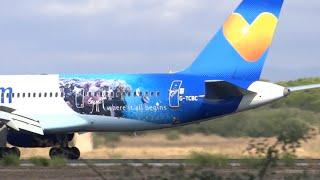 Palma de Mallorca airport landing compilation #02