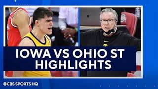 Iowa vs <b>Ohio State Basketball</b> Highlights and Recap   CBS Sports ...