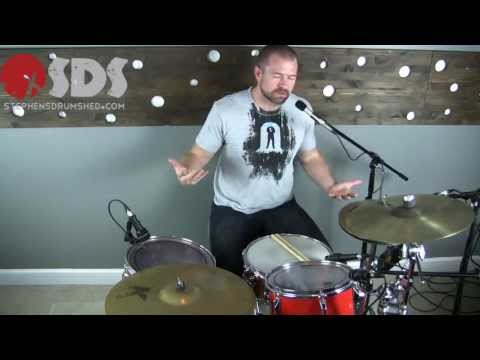 How To Drum - Practicing Playing Over the Barline