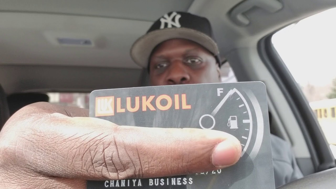 New Lukoil Fleet Gas Card That Reports Business Credit History - YouTube