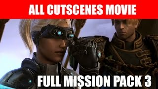 StarCraft 2 Nova Covert Ops Mission Pack 3 All Cutscenes Movie Ending Walkthrough HD Ultra