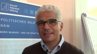 Ashok-Alexander Sridharan - Europatag in Bonn