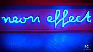 Enseigne lumineuse - Neon Effect - Signalétique LED par Kalisign