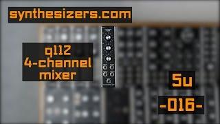 5u synthesizers com q112 mixer