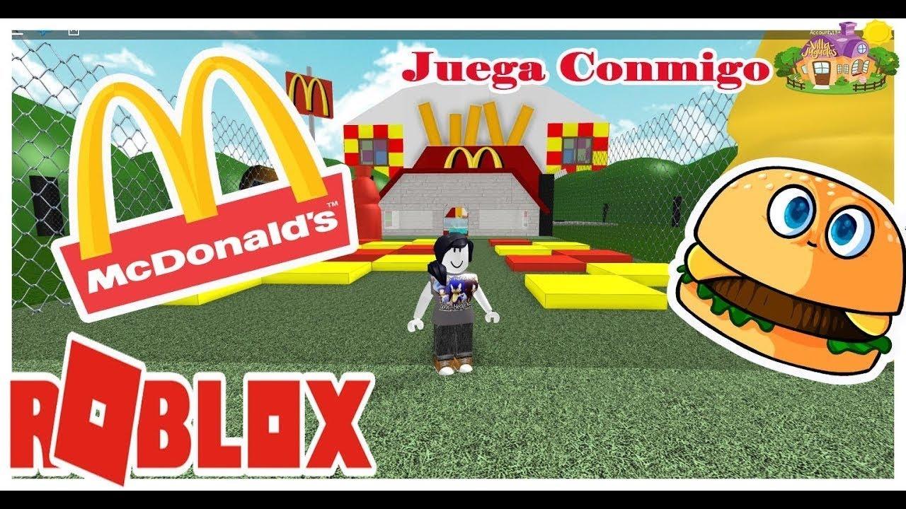 Juguemos Roblox Escape Mcdonals Juegos Divertidos