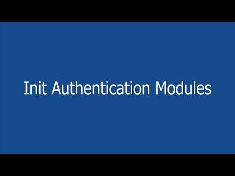35- Init Authentication Modules تجهيز الملفات والمكتبات| ASP.NET MVC Project