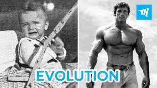 Arnold Schwarzenegger Evolution - from 1 to 71 years | Muscle Madness