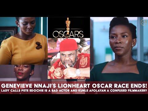 Download Oscar Disqualifies Genevieve Nnajis Lionheart Fan Comes For Pete Edochie