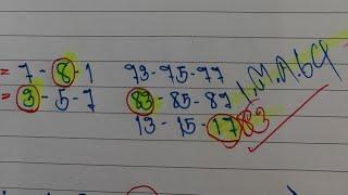 #สูตรคำนวณ.สองตัวล่างตรงๆ.หาล็อตเตอรี่ใว้.16.ต.ค.64
