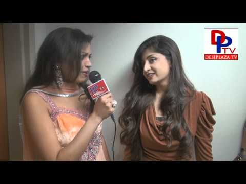 Interview with Poonam Kaur, Tollywood Actress at Dallas Star Night 2012.