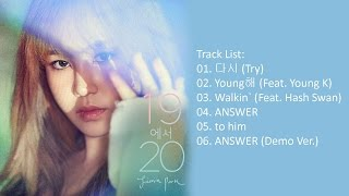 [Full Album] Jimin Park (박지민) - 19에서 20 [Mini Album]