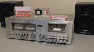 Про касетної деки JVC KD-10