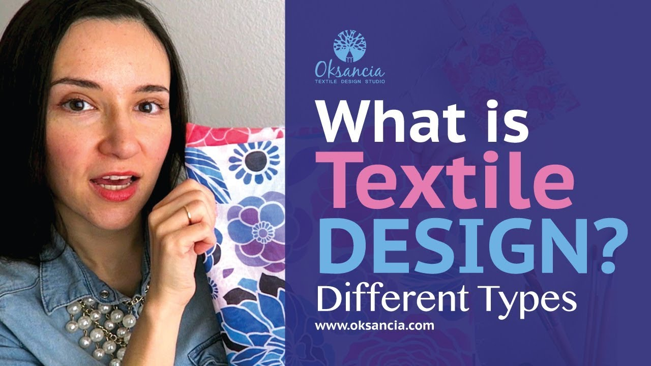 What Is Textile Design Different Types Of Fabric Design And Surface Pattern Design Youtube
