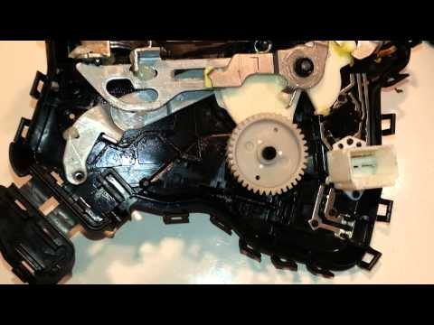 How to replace the rear door lock actuator on a 2007 for 08 chevy impala door lock actuator