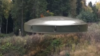 GREY ALIEN GOES INSIDE UFO!!! CLOSEST FOOTAGE!! 5th October 2017!!!