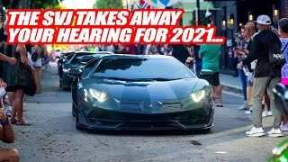 DEAFENING EVERYONE W/ THE LAMBORGHINI AVENTADOR SVJ ONE LAST TIME FOR 2020!
