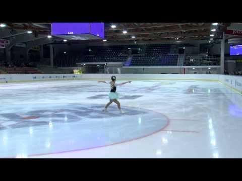 2015 ISU Jr. Grand Prix - Linz Ladies Free Skate Mai MIHARA JPN
