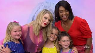 Taylor Swift meets her young fans Video