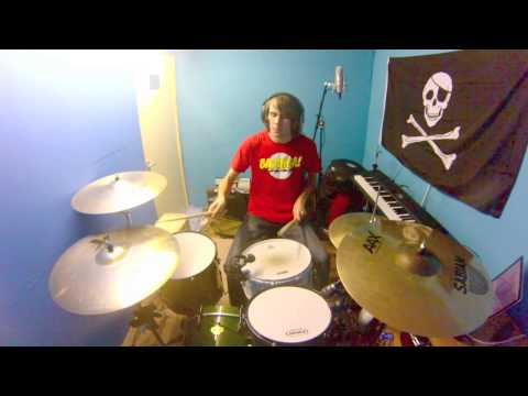 Chameleon Circuit - An Awful Lot of Running drum cover