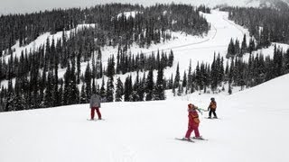 Winter at Sun Peaks Resort, British Columbia, Canada
