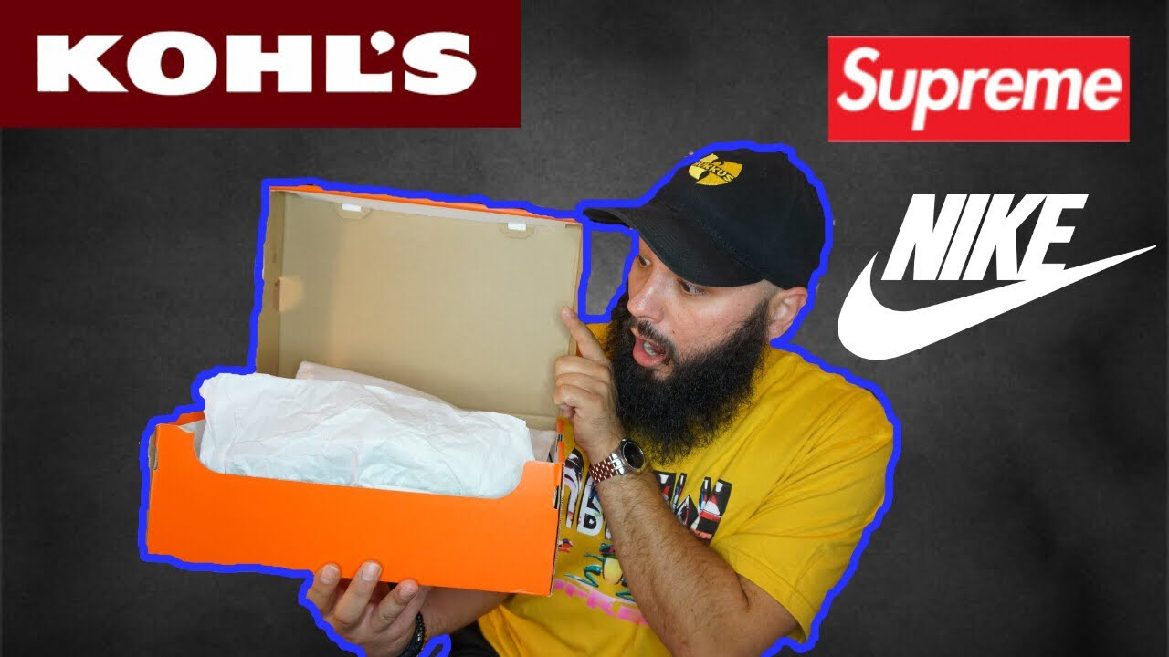 1af83e4ad0d5b4 I FOUND THE BEST NIKE SNEAKER EVER MADE AT KOHL S!!!! PLUS MORE PICKUPS  FROM SUPREME FALL WINTER  17