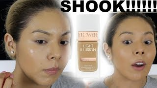 WORTH THE BUY OR NAW?!?||FLOWER BEAUTY LIGHT ILLUSION FOUNDATION
