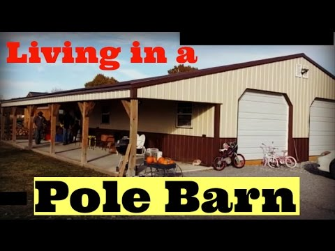 Family Of Five Lives In A Pole Barn Youtube