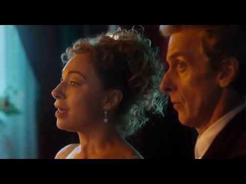 Doctor Who  Best Hello Sweetie EVER! Twelve & River