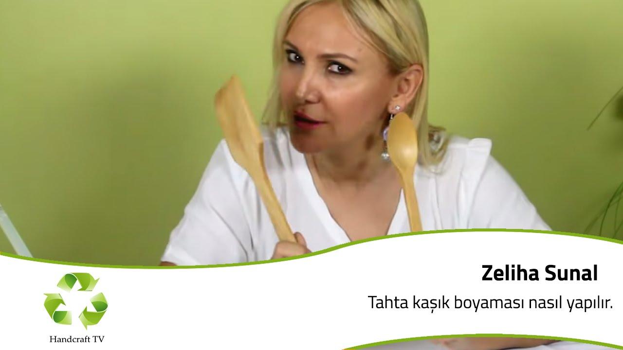 Tahta Kasik Boyamasi Nasil Yapilir How To Paint Wooden Spoons