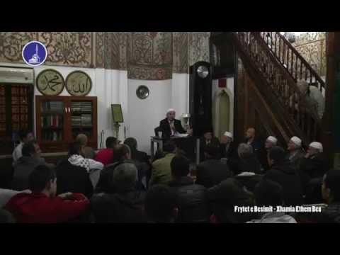 FRYTET E BESIMIT - Xhamia Ethem Beu, Tirane