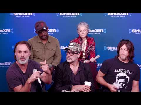 Andrew Lincoln Warns of Major Deaths on The Walking Dead, S8  SiriusXM  EW Radio