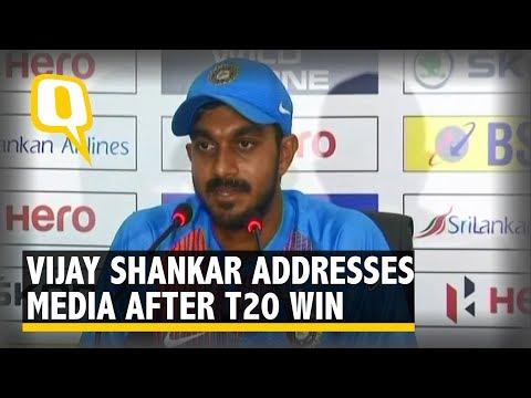 Vijay Shankar Addresses Media After Team India's T20 Win | The Quint
