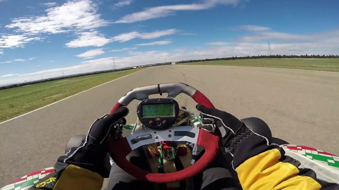 Circuito Zuera : Rotax 125 rodando en 1:08 circuito internacional de zuera youtube
