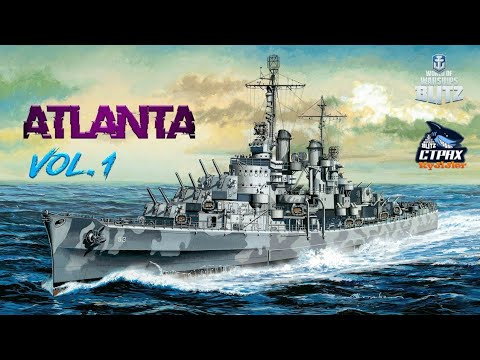 WOWS BLITZ ФЛОТ СТРАХ: Atlanta VII