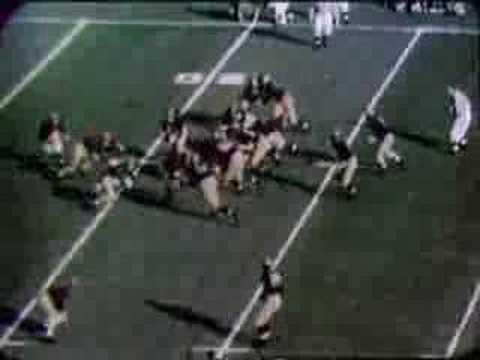 1948 Rose Bowl: Michigan 49 USC 0