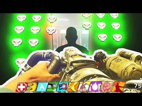 """NEW PERKAHOLIC EASTER EGG GUIDE: """"GHOSTS N SKULLS"""" TUTORIAL! (Infinite Warfare Zombies in Spaceland)"""