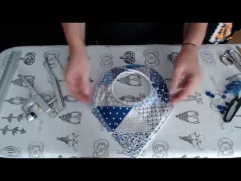 #Tutorial: babero bandana (triangular)