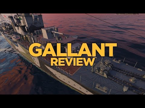 World of Warships - Gallant Review