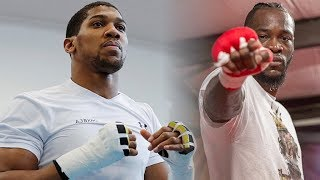 TEAM DEONTAY WILDER CRUSH EDDIE HEARN & ANTHONY JOSHUA WITH FACTS