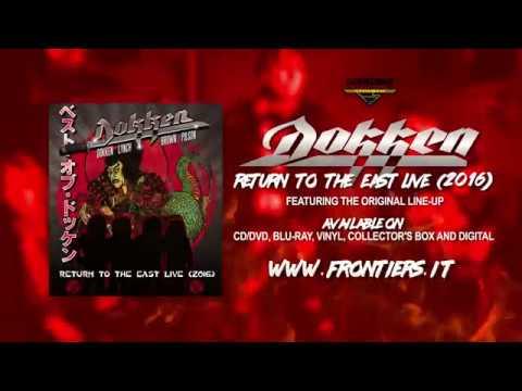 """Dokken  - """"Return To The East Live (2016)""""  [Official Trailer]"""