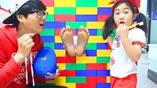 Boram et les histoires des enfants sur les petites maisons