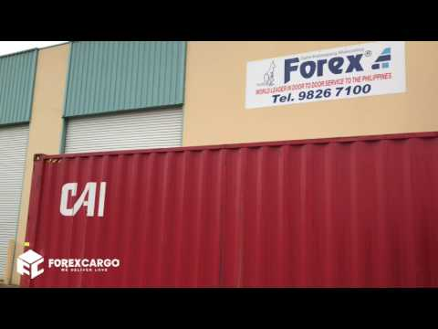 Forex Balikbayan Cargo Container In Australia Bound To The Philippines May 18 2017