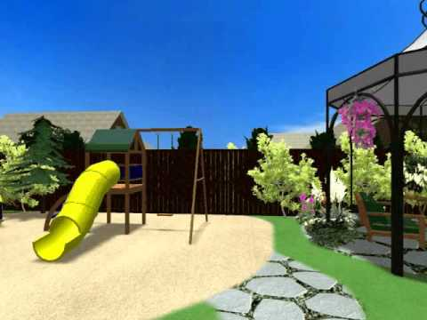 видео: Ландшафтный дизайн приусадебного участка