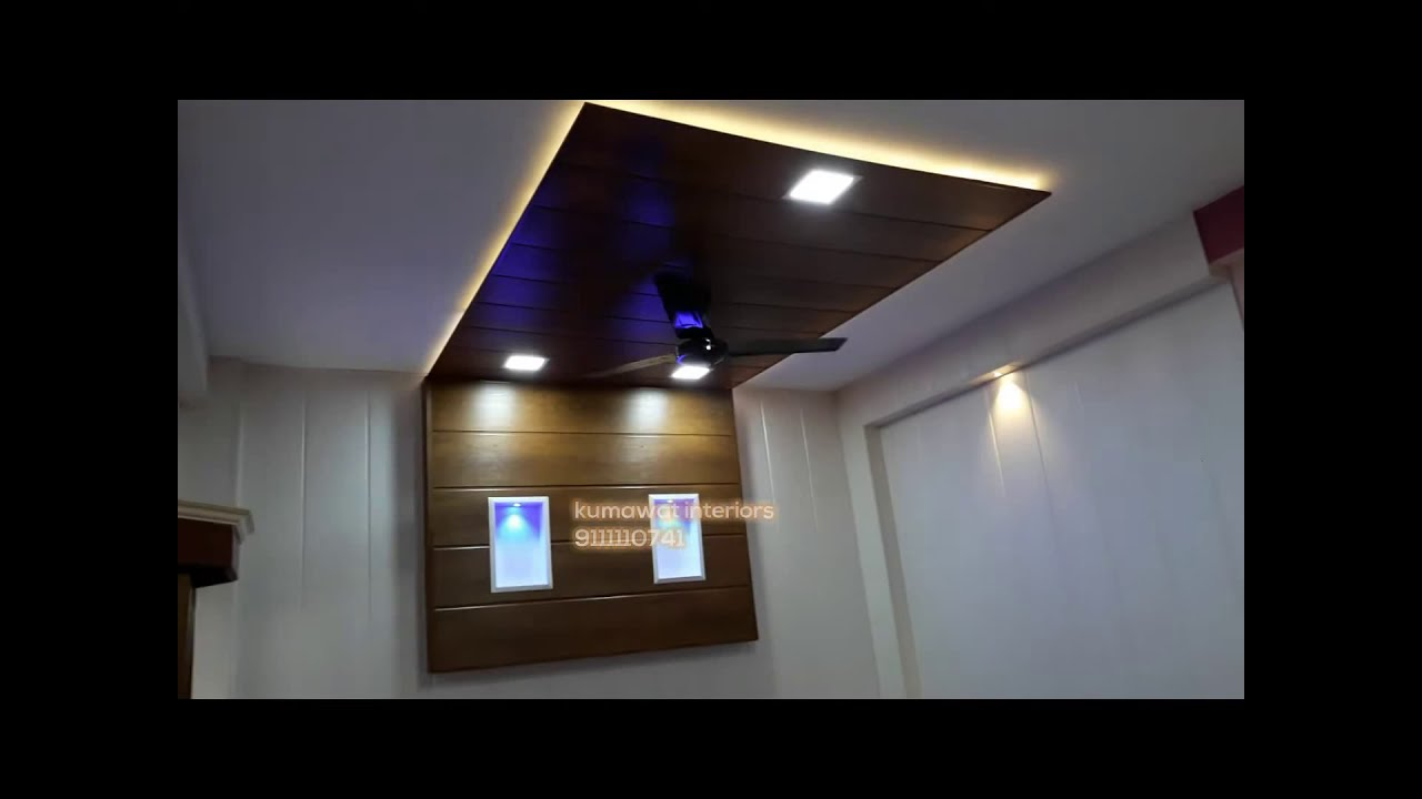 pvc false ceiling kumawat interiors youtube